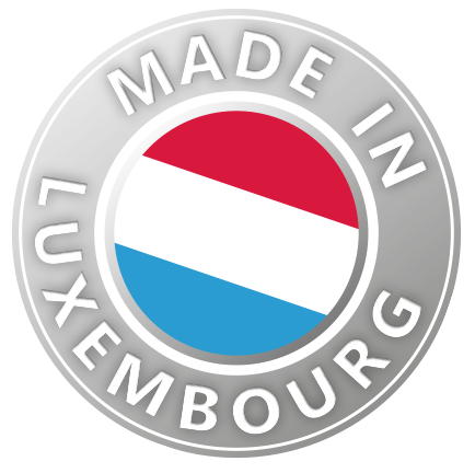 Willems made in Luxembourg Button